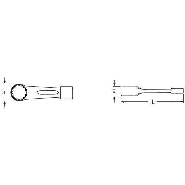 レンチ | STAHLWILLE(スタビレー) 865 打撃メガネレンチ (42010065)|arinkurin2|02