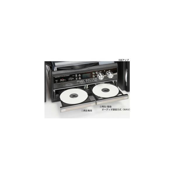 多機能プレーヤー(CDプレーヤー/レコードプレーヤー) デジタル録音 パソコン不要 とうしょう TCDR-286WC|arinkurin2|04