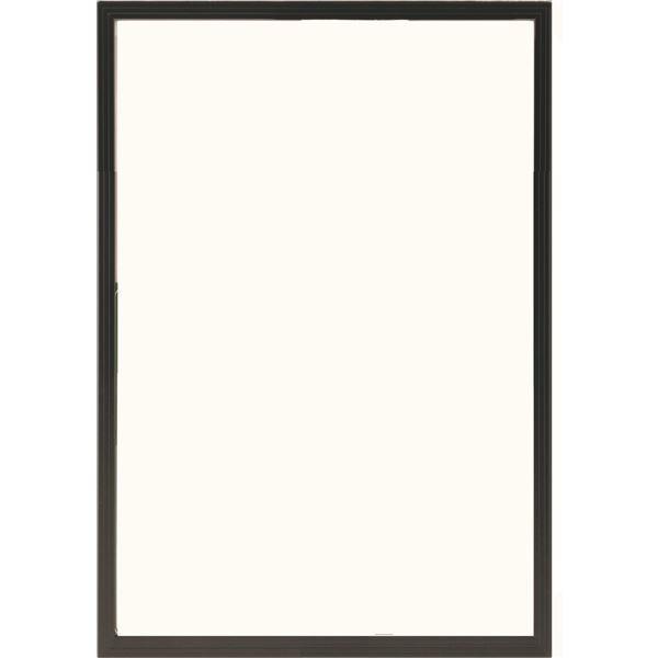額縁 | 多目的 フレーム額縁 (B3 ブラック) 表面カバー:UVカット機能付きPET 『かる フレーム』|arinkurin2