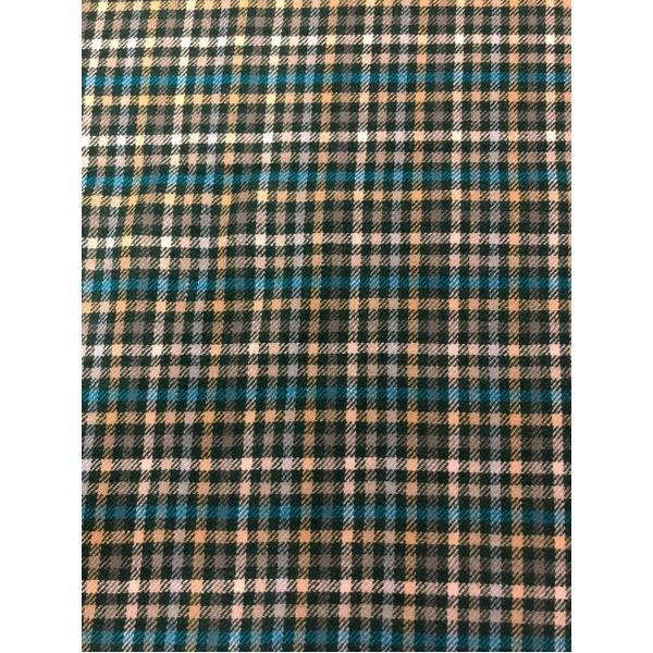 ファッション | 英国製 100%CASHMERE タータンマフラー グリーンチェック|arinkurin2|02