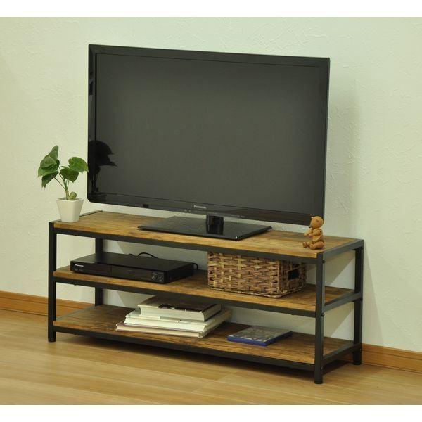 テレビ台(木製)   ブロンクス テレビボード ブラウン arinkurin2 05