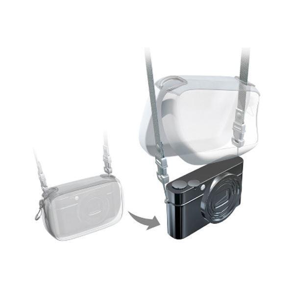 カメラバッグ | (まとめ)エレコム デジタルカメラケースGRAPH GEAR ソフトタイプ ブラック DGB062BK 1個(×3)