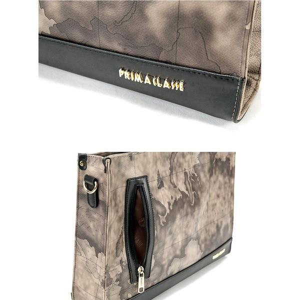 バッグ | PRIMA CLASSE(プリマクラッセ) PCH70001 ユニセックスで使えるビジネストートバッグ (グレイ)