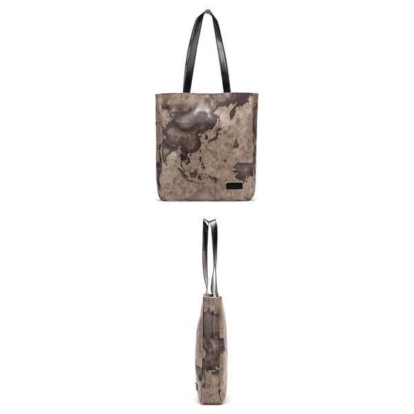 バッグ | PRIMA CLASSE(プリマクラッセ) PSH66107 縦長タイプのトートバッグ (グレイ)