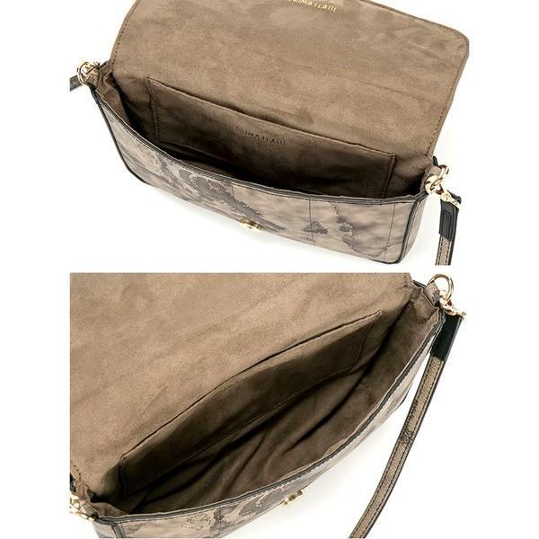 バッグ | PRIMA CLASSE(プリマクラッセ)PST73138 デザインストラップ付ショルダーバッグ (グレイ)