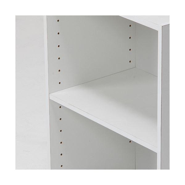 収納家具 | カラーボックス 可動棚2段 ホワイト|arinkurin2|05