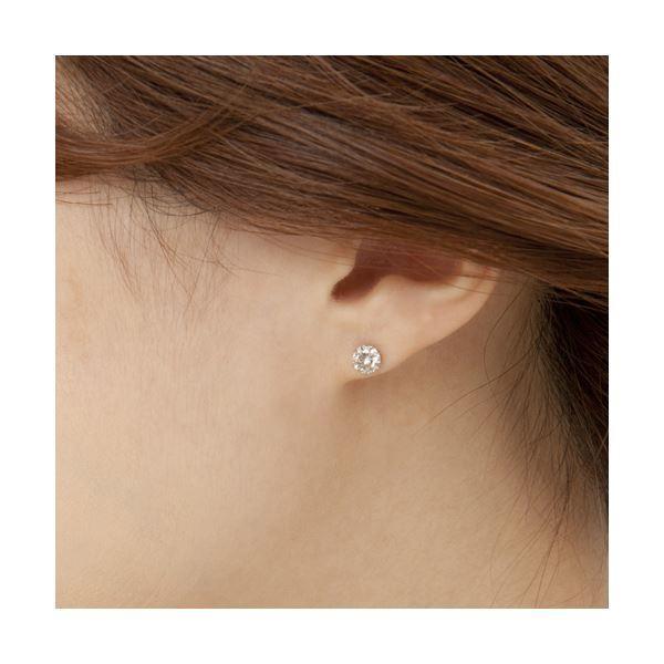 ダイヤモンド | ダイヤモンドピアス 一粒 1カラット プラチナ Pt900 1ct ダイヤ 大粒 鑑別カード付き