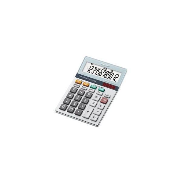 電卓 | SHARP(シャープ  電卓12桁(ミニナイスサイズタイプ  ELM712KX|arinkurin