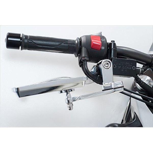 バイク用品 | タナックス(TANAX) NAPOLEON オフセットホルダー45 クロームメッキ|arinkurin|04