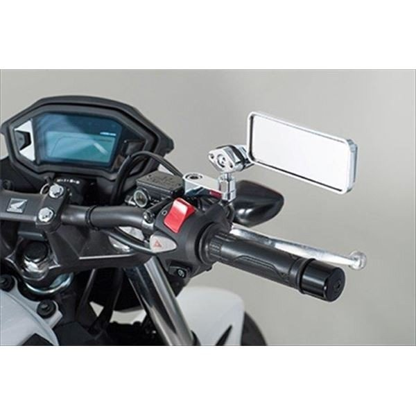バイク用品 | タナックス(TANAX) NAPOLEON オフセットホルダー45 クロームメッキ|arinkurin|05