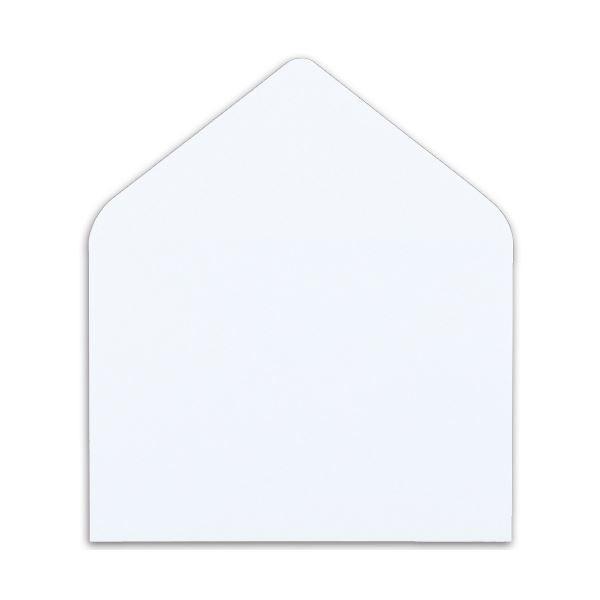 (まとめ) ハート マルチプリンター対応 洋封筒 洋2 104.7gm2 〒枠なし ホワイト Y1290 1パック(100枚) (×4)