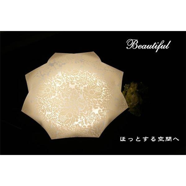 送料745円 | シーリングライト(照明器具) LEDタイプ/自然光色 花柄/八角形 〔リビング照明/ダイニング照明〕〔代引不可〕