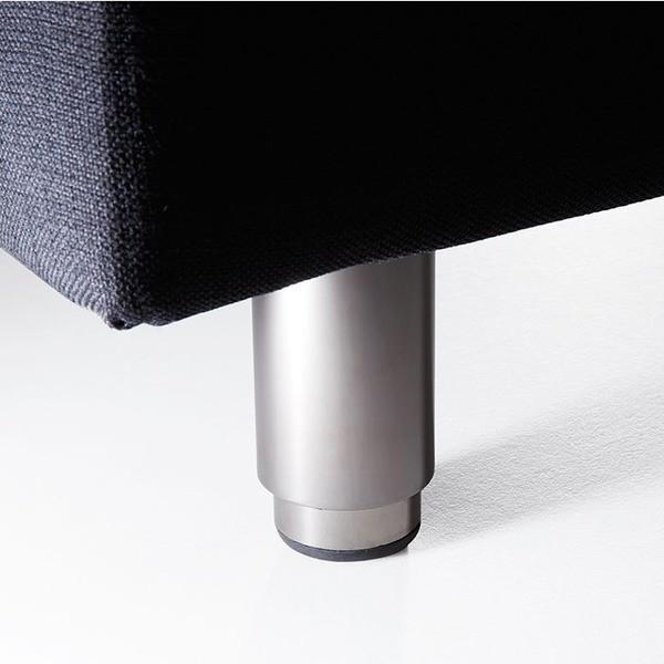 電動リクライニングベッド | (TEMPUR テンピュール) 電動リクライニングベッド (ベッドフレームのみ セミダブル) ブラック 『ZeroG Curve』|arinkurin|03