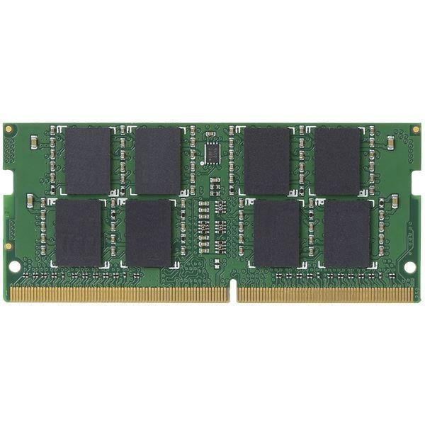 パソコン・周辺機器 | エレコム EU RoHS指令準拠メモリモジュール/DDR4-SDRAM/DDR4-2400/260pinS.O.DIMM/PC4-19200/8GB/ノート用 EW2400-N8G/RO|arinkurin