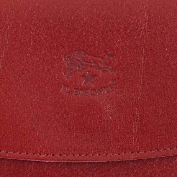 長財布 | IL BISONTE(イルビゾンテ) フラップ長財布 C0973 245 RUBY RED