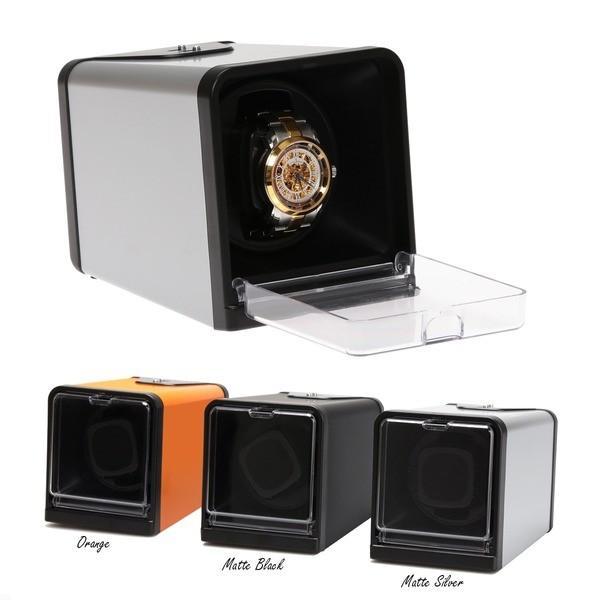 腕時計 | TSELECTIONS 1本巻きワインディングマシーン 4モード 1年無償修理保証付 全3色 マットシルバー T005112SL