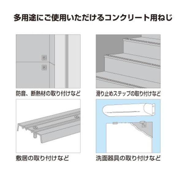 (200本入) ネジ/ビス (皿型 4.0×25mm) ステンレス製 ヤマヒロ 『ビスコン』 (建築 工事 工具) FVT42025 arinkurin 04