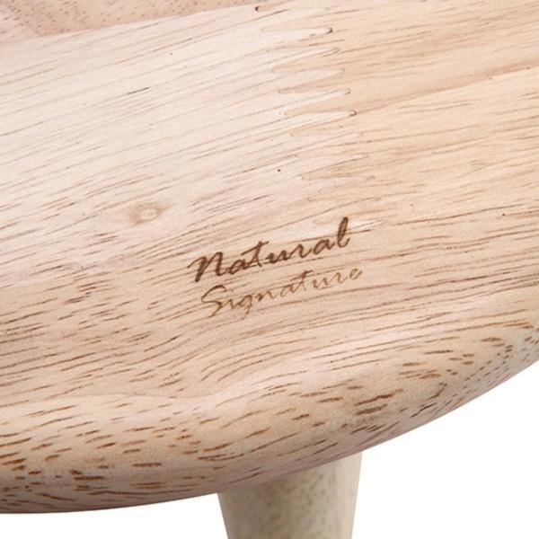 センターテーブル   北欧風 センターテーブルローテーブル (幅94cm ナチュラル) 天然木 ドリンク・ペンホルダー付き 『Natural Signature FOOT』 arinkurin 06