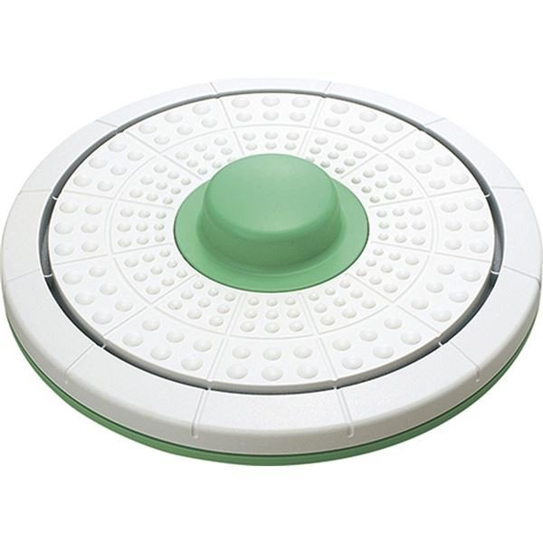 ダイエット器具 | バランス&ツイストボード (直径約325×75mm) 約1,064g 日本製 『キュキュ』 (リビング ダイニング ベッドルーム)|arinkurin