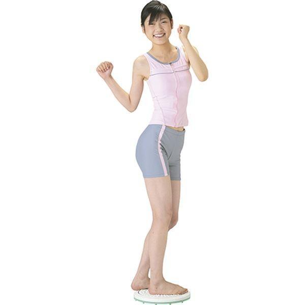ダイエット器具 | バランス&ツイストボード (直径約325×75mm) 約1,064g 日本製 『キュキュ』 (リビング ダイニング ベッドルーム)|arinkurin|03