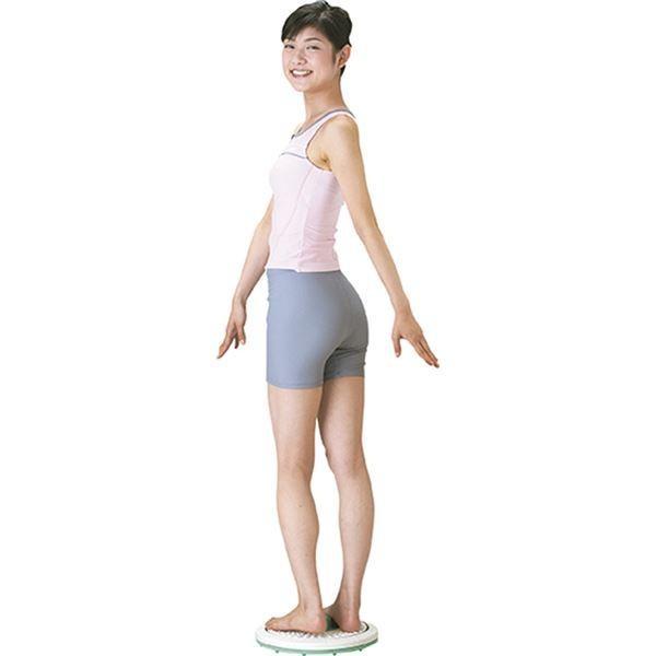 ダイエット器具 | バランス&ツイストボード (直径約325×75mm) 約1,064g 日本製 『キュキュ』 (リビング ダイニング ベッドルーム)|arinkurin|04