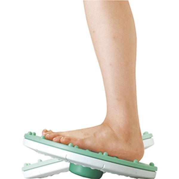 ダイエット器具 | バランス&ツイストボード (直径約325×75mm) 約1,064g 日本製 『キュキュ』 (リビング ダイニング ベッドルーム)|arinkurin|06