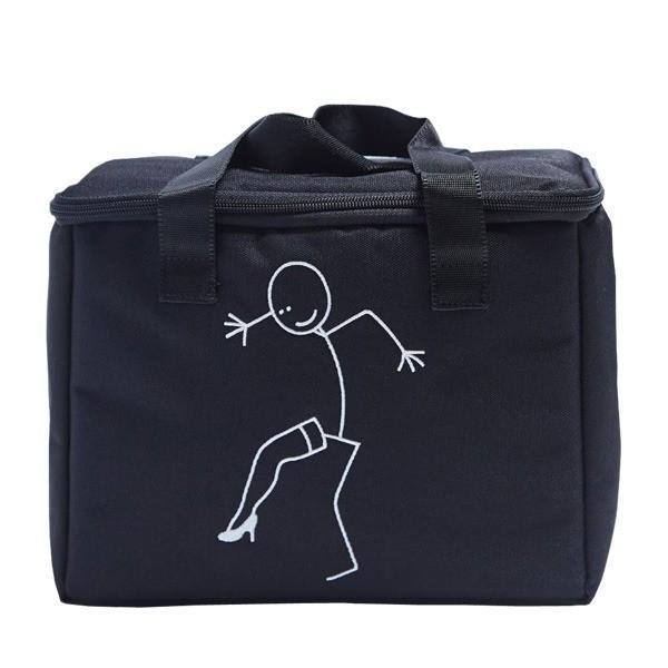 トートバッグ   アウトドアにもエコバッグとしても使えるハンドバッグMLヒールブラック