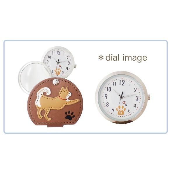 腕時計 | ルーペ付きウォッチ シバ〔2個セット〕〔カーキ〕