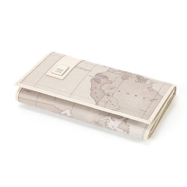 エコバッグ | PRIMA CLASSE(プリマクラッセ) PSW82129 三つ折り長財布 (ミントグレイ)