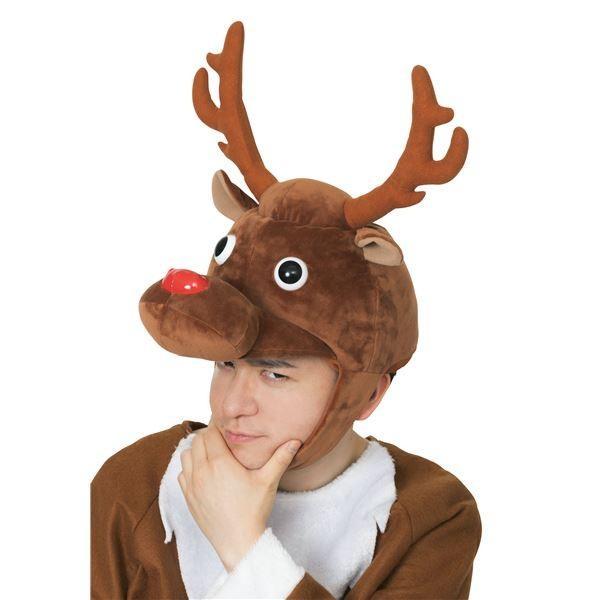 トナカイ | (クリスマスコスプレ/コスプレ衣装) XM コミカルトナカイかぶりもの|arinkurin|04