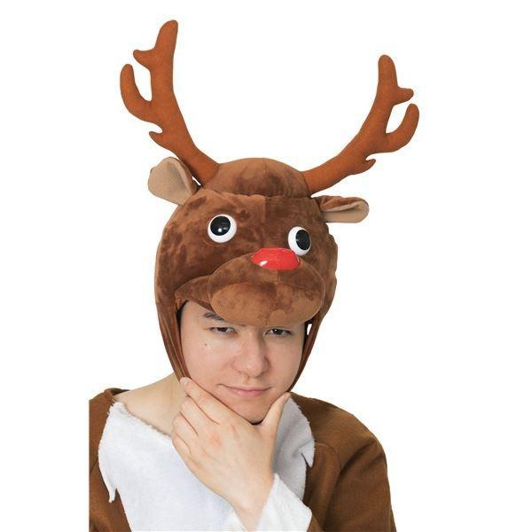 トナカイ | (クリスマスコスプレ/コスプレ衣装) XM コミカルトナカイかぶりもの|arinkurin|06
