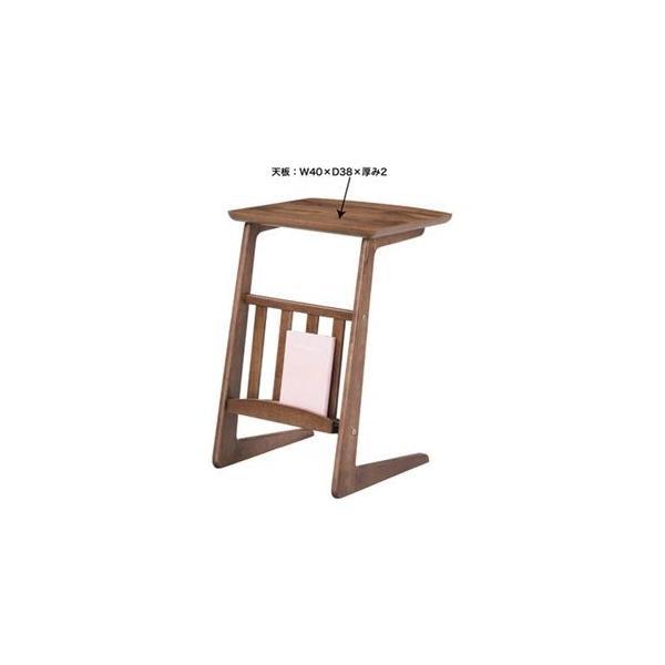 木製、天然木 | ソファサイドテーブル (Tomte)トムテ 木製(天然木) 棚収納付き TAC239WAL|arinkurin|02