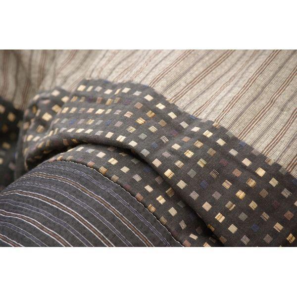 こたつ   しじら こたつ厚掛け布団単品 こたつ布団 『ゆかり』 ブラック 205×245cm