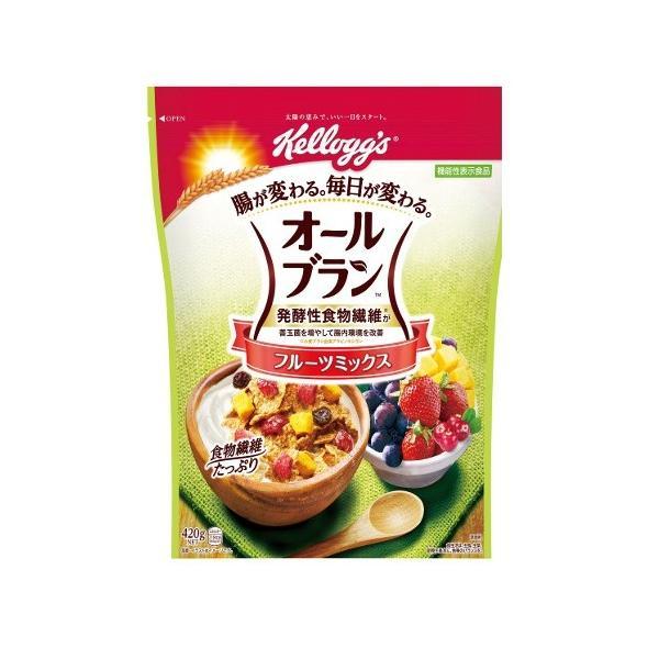 ケロッグ オールブランフルーツミックス徳用袋 420g×6個 【送料無料】
