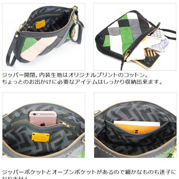 ミニショルダーバッグ robita ロビタ tone トーン アンティークメッシュレザー TONE-045