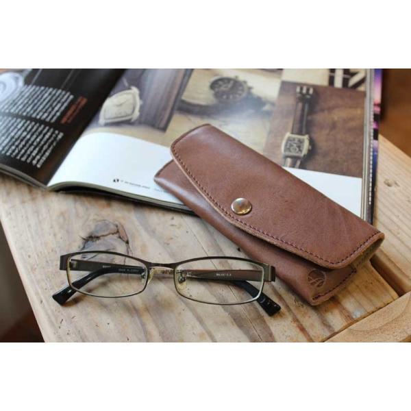 本革 メガネケース 眼鏡ケース オリジナルデザイン TR17-005|arista|06