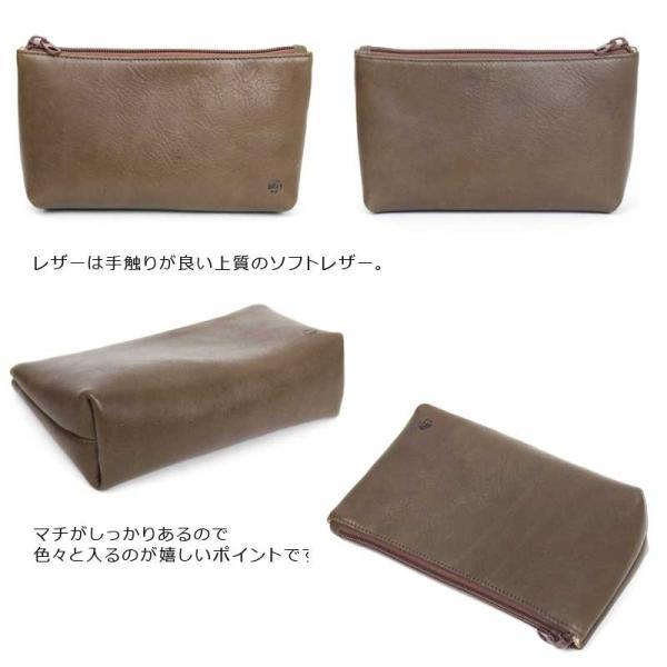 本革 ポーチ 小物入れ オリジナルデザイン TR17-008|arista|03