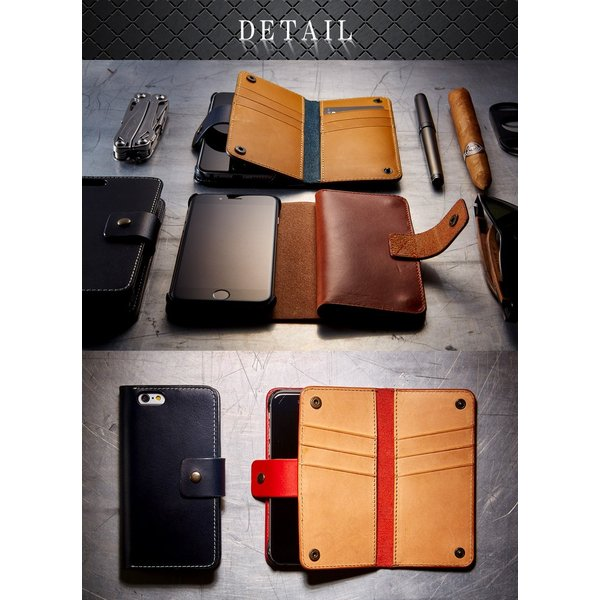 iPhone6用カードウォレット 手帳型携帯ケースVELOCERECORD ヴェローチェレコルト VRJ-CWIP6|arista|03