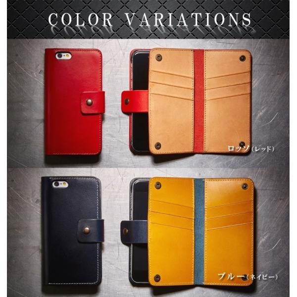 iPhone6用カードウォレット 手帳型携帯ケースVELOCERECORD ヴェローチェレコルト VRJ-CWIP6|arista|05
