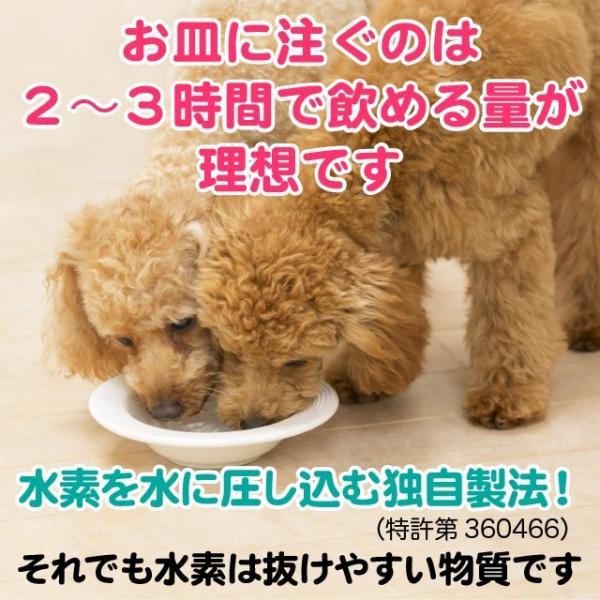 ペット用水素水 ミネラルゼロ 犬 猫  甦り水 お試し ペットの水素水 220ml 10本 送料無料 アルミ ボトル|arkhe|10
