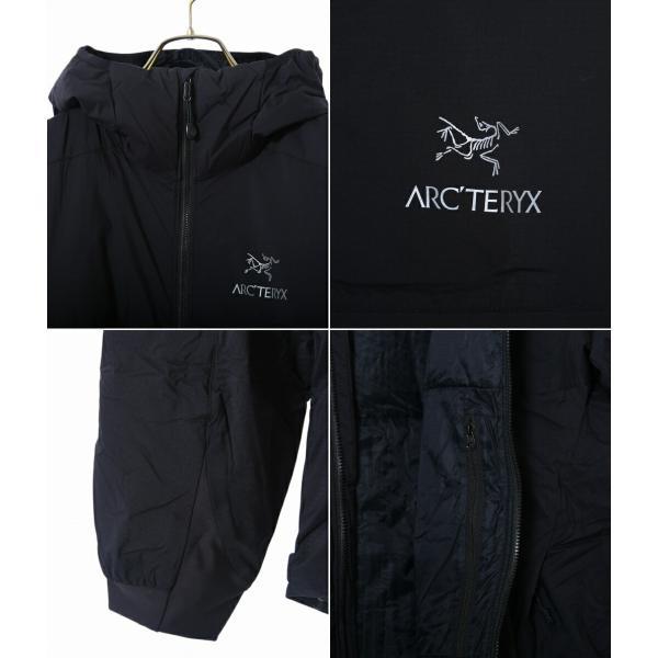 ARC'TERYX [アークテリクス] / Atom AR Hoody Men's (REGULAR FIT) -Black- (アークテリクス ジャケット アウター ブルゾン)L06301200|arknets|02