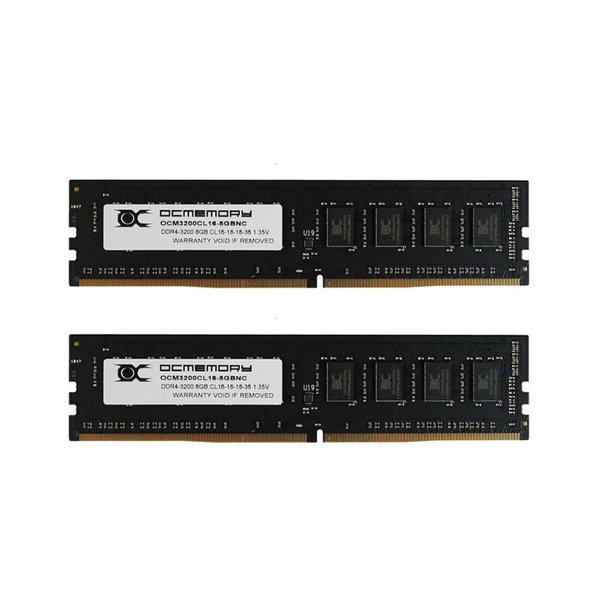 OCM3200CL16D-16GBNC 288pin DDR4-3200 CL16-18-18 16GB(8GBx2枚