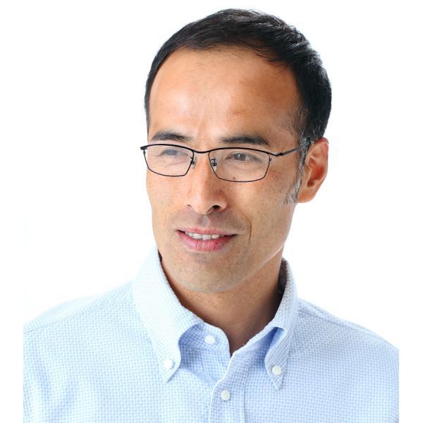 ブルーライトカット 中近両用メガネ ネオライトフィット[全額返金保証] 老眼鏡 眼鏡 男性 用 シニアグラス メンズ おしゃれ リーディンググラス|armsstore|05