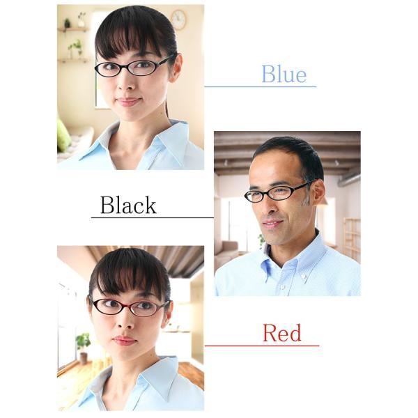 (BLC)ブルーライトカット 紫外線カット 遠近両用メガネ ネオンカラー(ブルー)[全額返金保証]おしゃれ 女性用 中近両用 眼鏡 老眼鏡 パソコン シニアグラス|armsstore|06