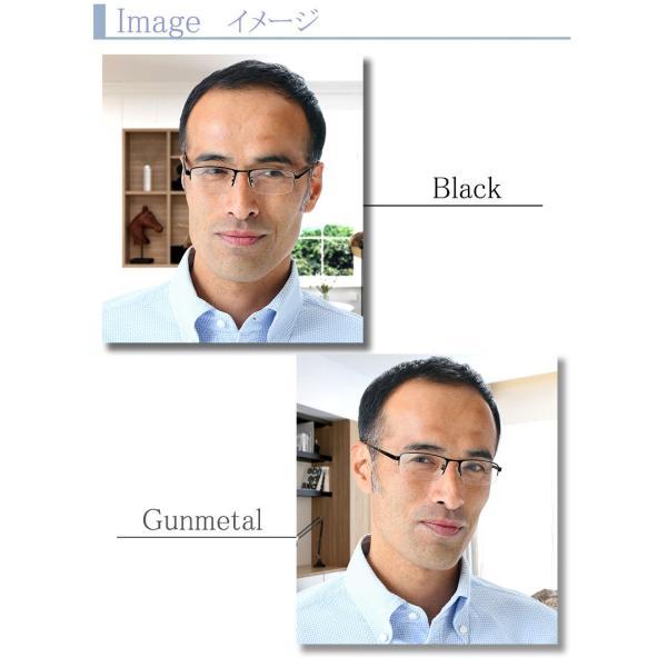 ブルーライトカット 老眼鏡 ロネリー ナイロール(RT119)[全額返金保証]メガネ 眼鏡 男性 用 メガネ シニアグラス メンズ おしゃれ リーディンググラス|armsstore|05