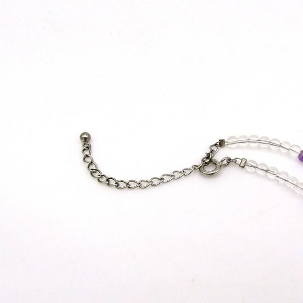 天然水晶 天然アメジスト カット ネックレス Silver925 arnavgems 03