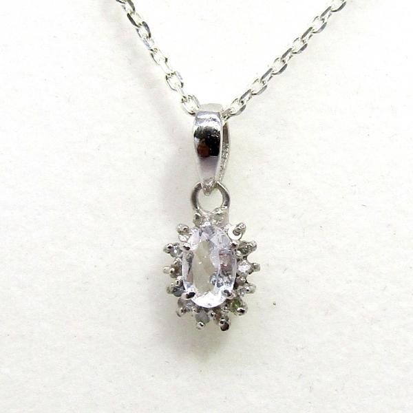 ダイヤモンド 4月:誕生石  水晶 Silver925 ペンダントトップ ※チェーン含まず|arnavgems