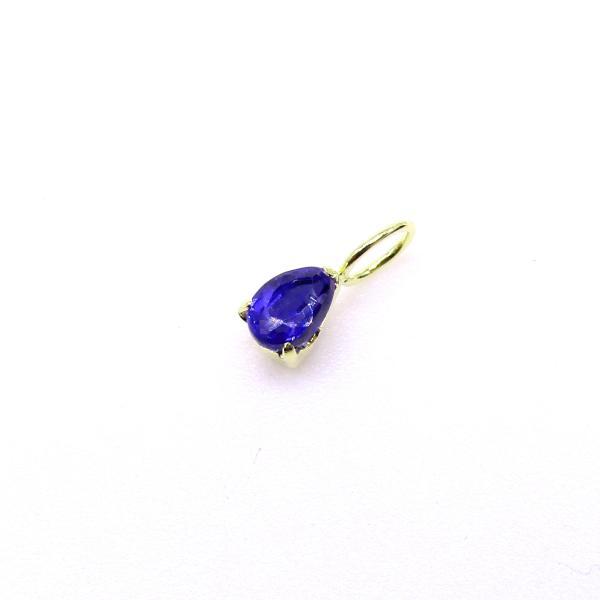 カイヤナイト ペンダントトップ K18イエローゴールド (日本作成 K18刻印有り) *チェーン別売り arnavgems 02
