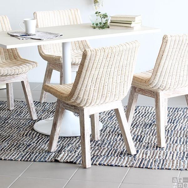 チェア 椅子 チェアー ラタン 白 イス arneBALI Hチェア ホワイト|arne-sofa|04