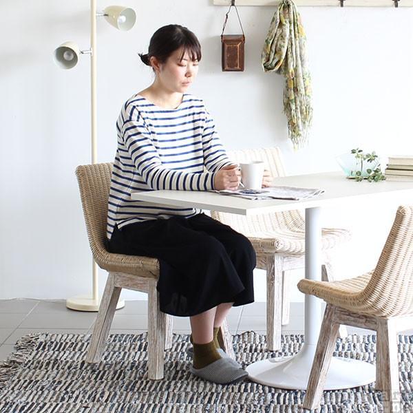 チェア 椅子 チェアー ラタン 白 イス arneBALI Hチェア ホワイト|arne-sofa|05